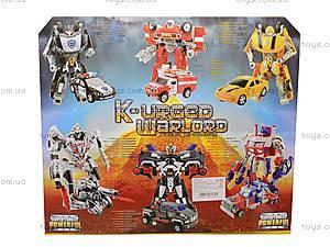 Трансформеры игрушечные в наборе, D622-E107, игрушки