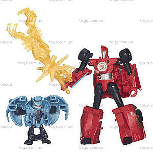 Детские трансформеры «Роботы под прикрытием: Миниконы Бетл-Пекс», B4713, отзывы