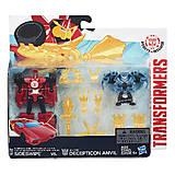 Детские трансформеры «Роботы под прикрытием: Миниконы Бетл-Пекс», B4713, купить