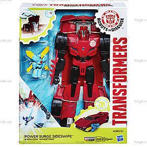 Трансформеры роботы под прикрытием «Заряженые Герои», B7067, фото