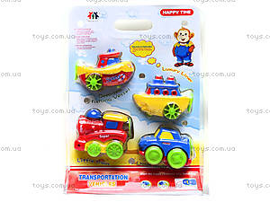 Заводные игрушки «Транспорт», 120-10, фото
