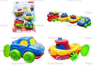 Заводные игрушки «Транспорт», 120-10
