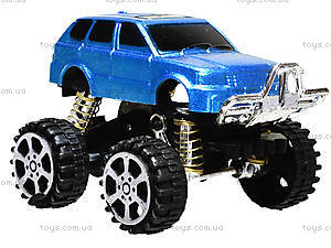 Инерционный джип «Большие колеса», 399-2951, фото