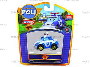 Металлические модели машинок Robocar Poli, 83160-83163, фото