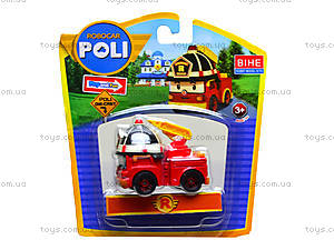 Металлические модели машинок Robocar Poli, 83160-83163, цена