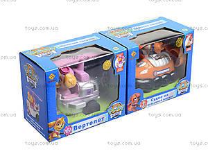 Игрушечный транспорт Paw Patrol, JD-802ABCDEFG, детские игрушки