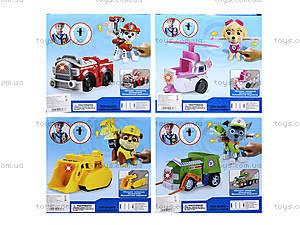 Игрушечная машина Paw Patrol с героем, JD-803ABCDEFG, детские игрушки
