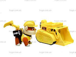 Игрушечная машина Paw Patrol с героем, JD-803ABCDEFG, toys.com.ua