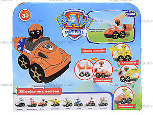 Игрушечный транспорт Paw Patrol с героем, TY400A, фото