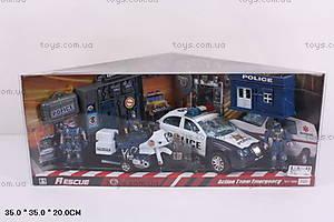 Транспортный набор с полицейскими, 999-70C
