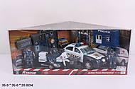 Транспортный набор с полицейскими, 999-70C, фото