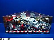 Транспортный набор «Спасатели», 999-70A
