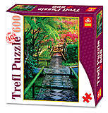 Trefl пазлы «Цветущий сквер», 89005, купить