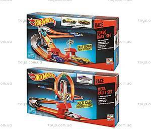 Игровой трек Hot Wheels «Супергонки  3 в 1», DNN81
