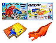 Трек для машинок Crazy Cop, 660-117