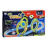 Трек детский «Glow Speed Track» 49 деталей TENGLEADER, 89924