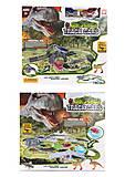 Трек Dinozaurs с петлями 309 деталей + 2 машинки + 4 динозавра, D7088, купить
