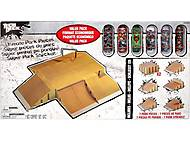 Эксклюзивный набор рамп для фингерпарка, 13850-6015124-TD, детские игрушки