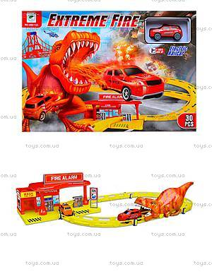Трек для машинок Extreme Fire, 660-124