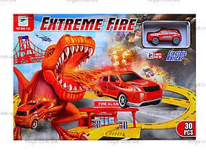 Трек для машинок Extreme Fire, 660-124, игрушки
