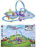 Трек для поездов «Гонки на паровозике», 661J-1, toys.com.ua