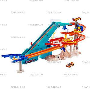 Трек  Hot Wheels «Моторизований мегагараж», BGJ18, купить