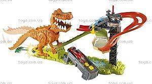 Игровой трек Hot Wheels «Тиранозавр Рекс», X2700, купить