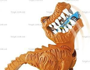 Игровой трек Hot Wheels «Тиранозавр Рекс», X2700, фото