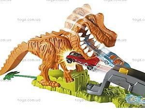 Игровой трек Hot Wheels «Тиранозавр Рекс», X2700, отзывы
