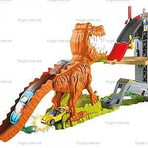 Игровой трек Hot Wheels «Тиранозавр Рекс», X2700, цена