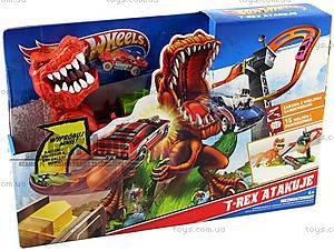 Игровой трек Hot Wheels «Тиранозавр Рекс», X2700