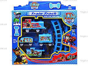 Детская железная дорога «Щенячий патруль», 7010Х, цена