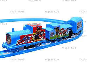 Детская железная дорога «Щенячий патруль», 7010Х, игрушки
