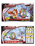 Игровой трек с горками Hot Racing, 8002A, фото