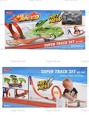 Детский трек Max Speed с горками, 8818