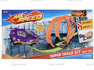 Детский трек с горками для машин Max Speed, 8805, купить