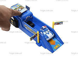 Трек для запуска с машиной «Робокар Поли», XZ-196S, игрушки