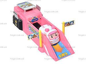 Игровой трек с машинкой «Робокар Поли», XZ-197S, игрушки