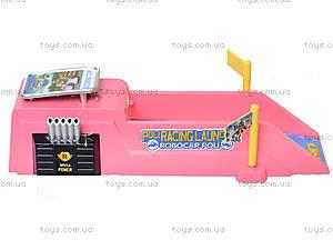 Игровой трек с машинкой «Робокар Поли», XZ-197S, магазин игрушек