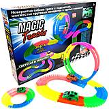 """Гибкий светящийся трек """"Magic Tracks"""" + 2 машинки, 366 деталей, PT366, купить"""