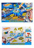 Трек Hot Wheels с инерционной машинкой, которая меняет цвет, 2 вида, 79027905, купить
