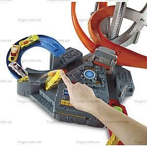 Трек для машинок Hot Wheels серии «Головокружительные виражи», CDL45, цена