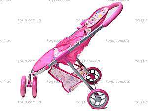 Трехколесная коляска для кукол, 9675 (HT), магазин игрушек