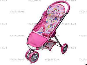 Трехколесная коляска для кукол, 9675 (HT), toys.com.ua