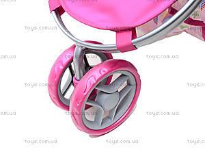 Трехколесная коляска для кукол, 9675 (HT), toys