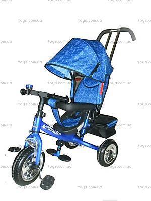 Трехколесный детский колясочный велосипед, LT-2013 BLUE