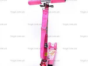 Трехколесный самокат с подсветкой колес, YJ-251, детские игрушки