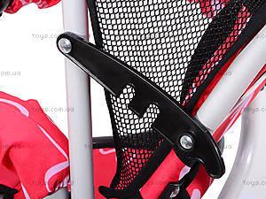 Трехколесный велосипед с цветочками Lexus, M0449-3, купити