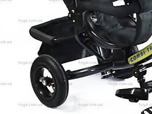 Трехколесный велосипед с крышей Dark Grey, BT-CT-0004 DA, купить