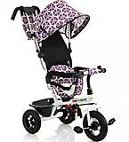 Трехколесный велосипед с ручкой Babyhit Kids tour Фиолетовый, 15573, игрушки